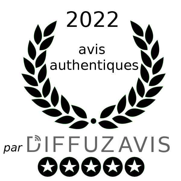 Ce commer�ant a re�u le label Avis authentiques par Diffuzia
